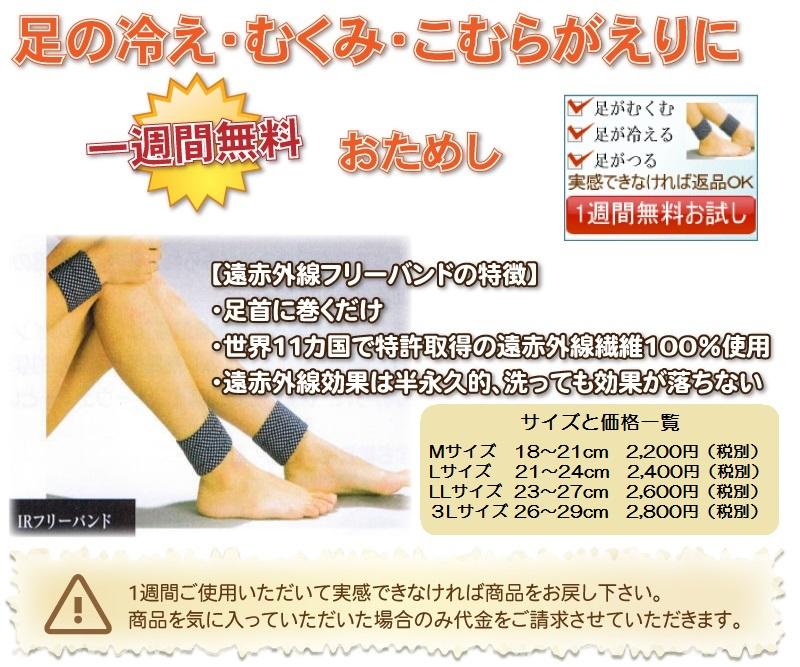 足がつる・こむら返り・足のむくみ・手足の冷えに1週間無料お試し。